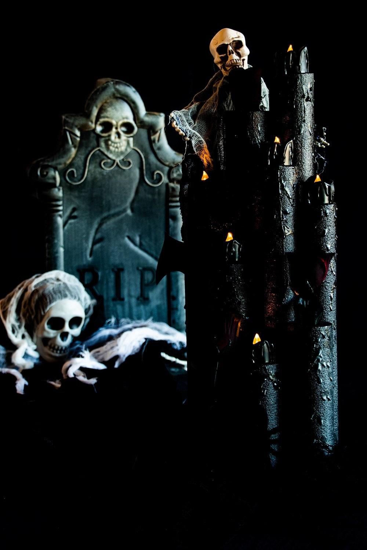 Schaurige Halloween-Deko basteln